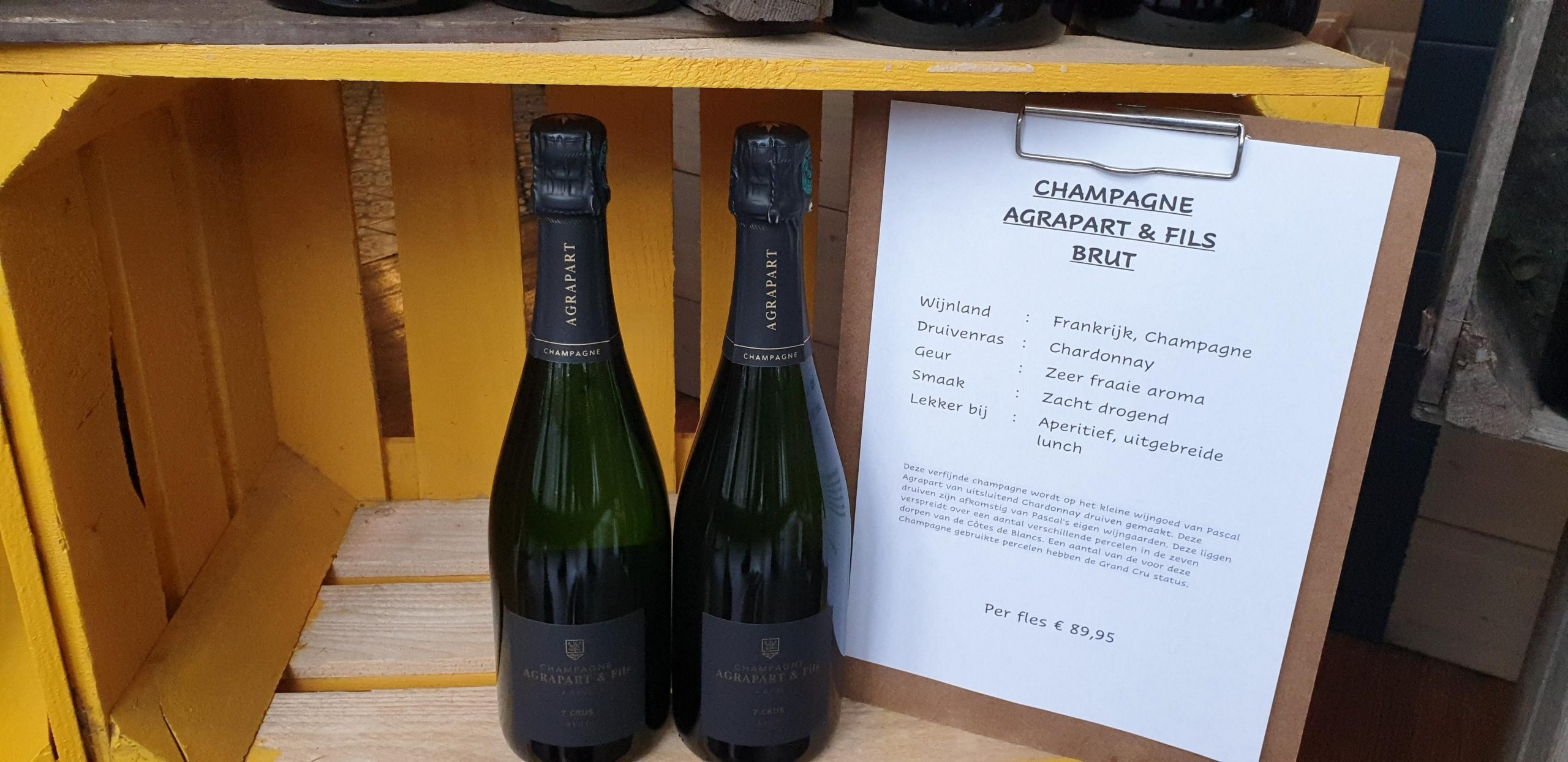 Champagne Agrapart & Fils Brut 1